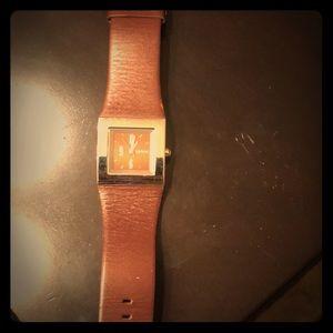 DKNY Burgundy Watch
